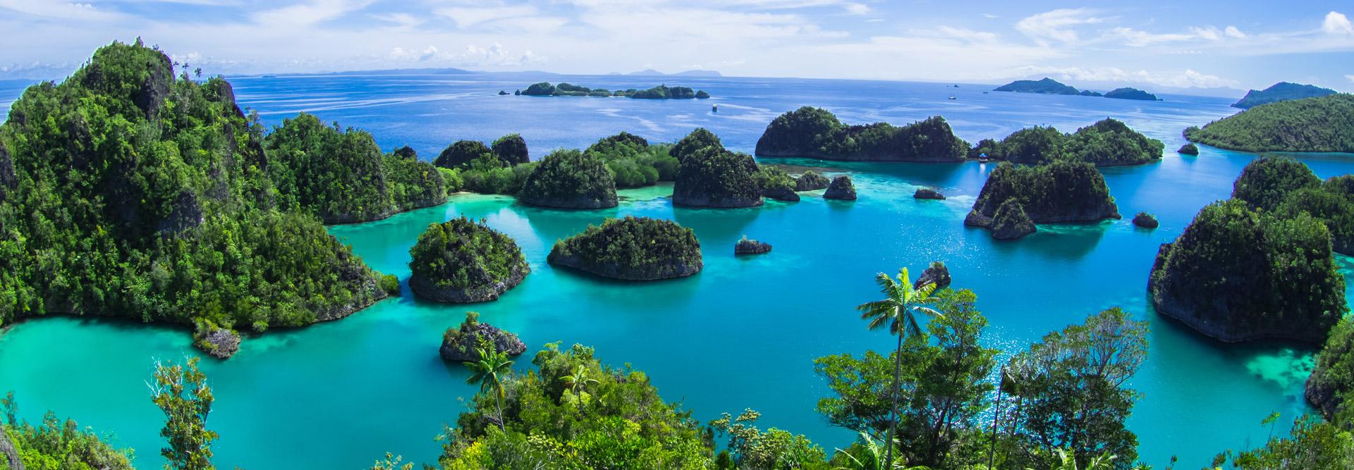 pianemo raja ampat papua indonesia