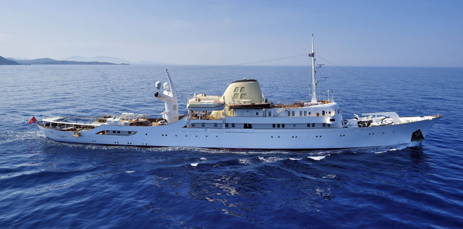 Private yacht charter in the mediterranean